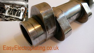 Spitfire Merlin Camshaft Worn | by EasyElectroplating