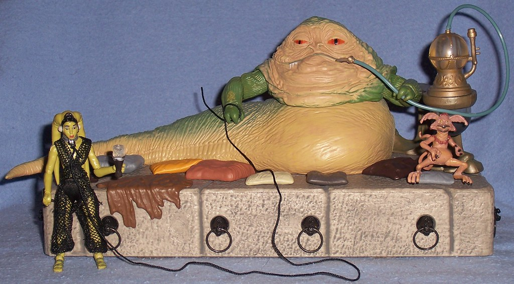 "Walmart Exclusive Hasbro ""Jabba's Throne"" 