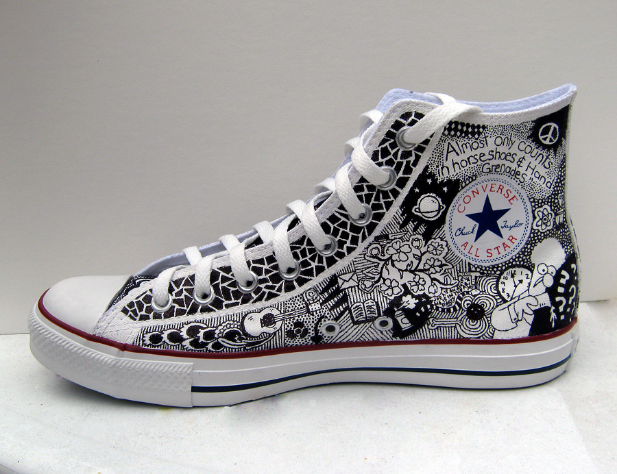Shoe Converse Drawing