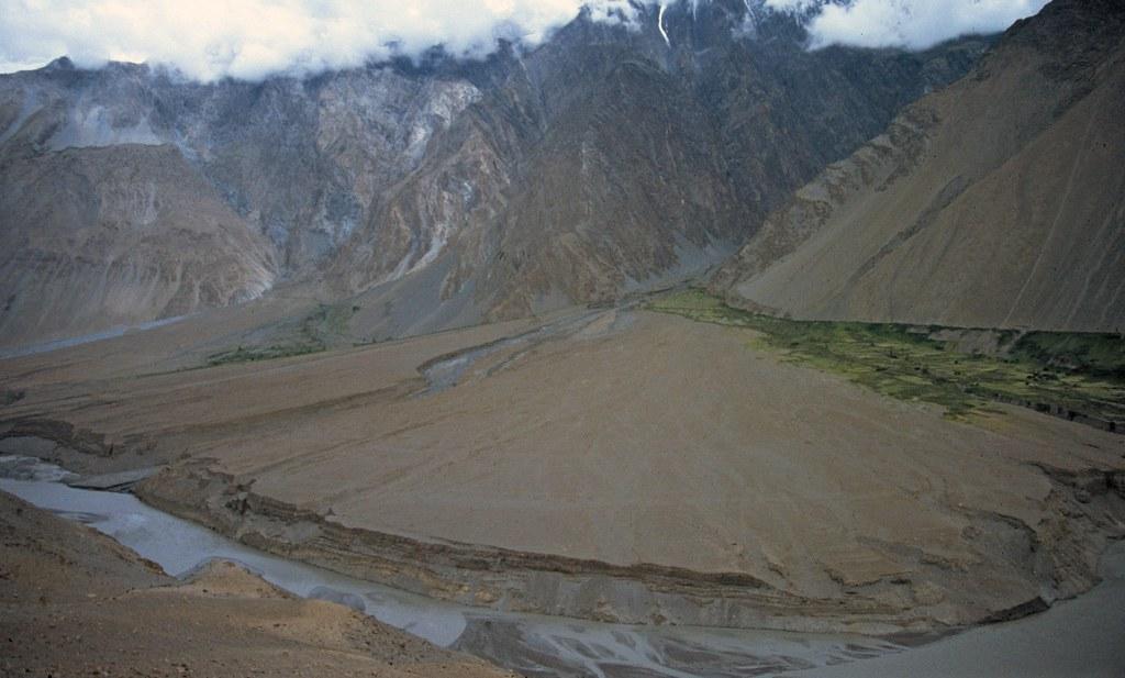 Abanico Aluvial Gulmit Pakistan 01 Alluvial Fan