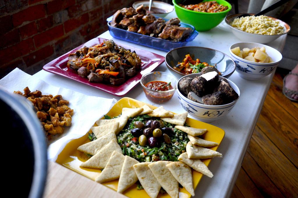 Potluck Dinner 01 | MJ Harris | Flickr