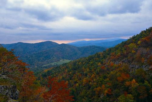In The Blue Ridge Mountains Of Virginia Virginia View