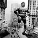 1940s NYC times square vintage parade balloon superman