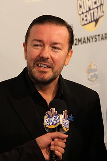 "Ricky Gervais at Comedy Central's ""Night of Too Many Stars"" 