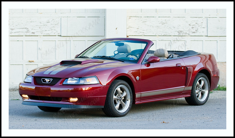 2004 40th Anniversary Mustang Gt Convertible 2004 40th