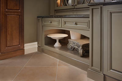 ... Square Recessed Panel   Veneer Maple (AA6M) | By KraftMaid Cabinetry