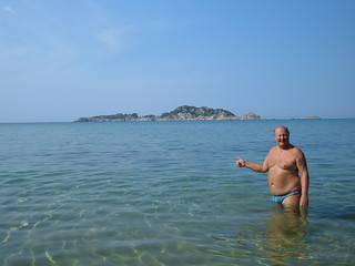 Corfu - Arillas - Pat with Gravia Island | by pj's memories