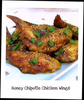 Honey Chipotle Chicken Wings | by CinnamonKitchn