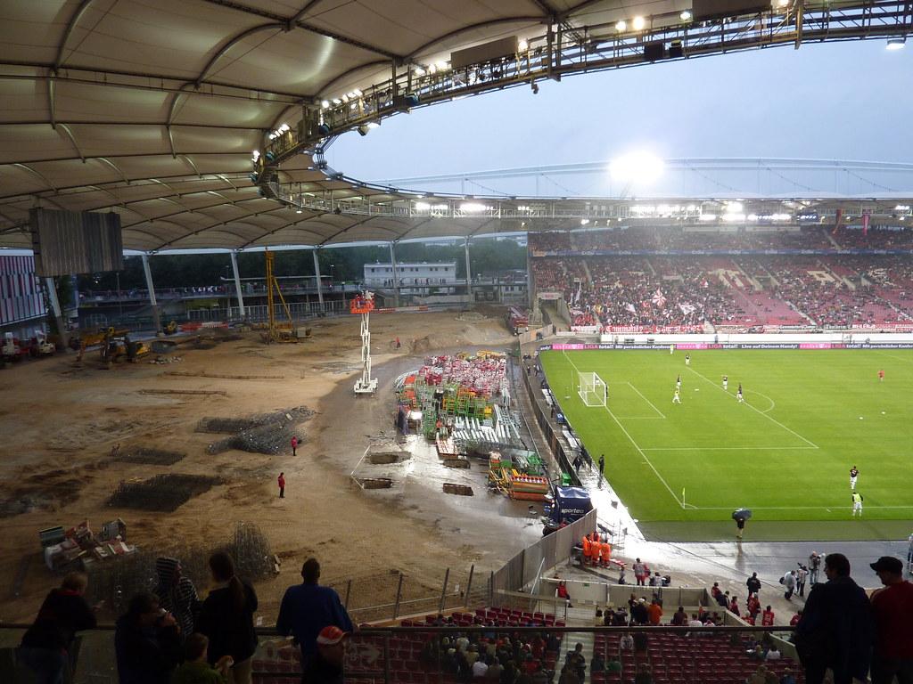 Mercedes Benz Arena Stuttgart As Part Of The Rebuilding