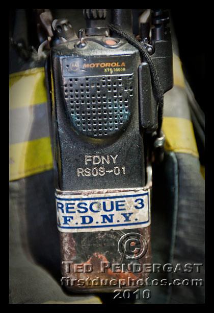Fdny Rescue 3 Handie Talkie Bronx Images Captured