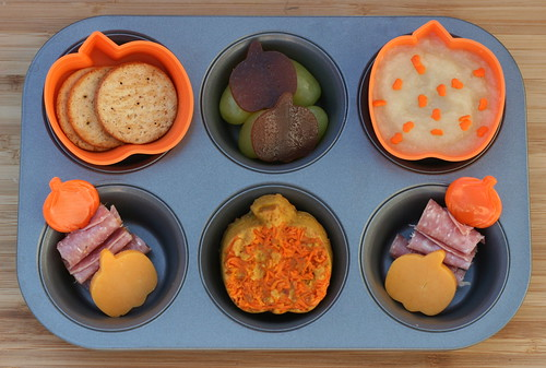 Muffin Tin Monday - pumpkins! | by anotherlunch.com