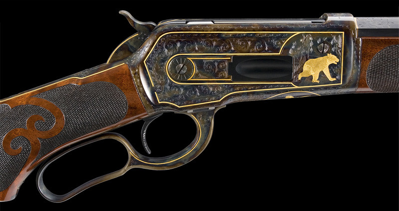 Winchester model 1886 deluxe 9 engraved serial 53xxx m for 3d cuisine deluxe crack