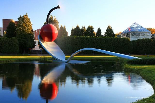 Minneapolis Sculpture Garden Spoon And Cherry Flickr Photo Sharing