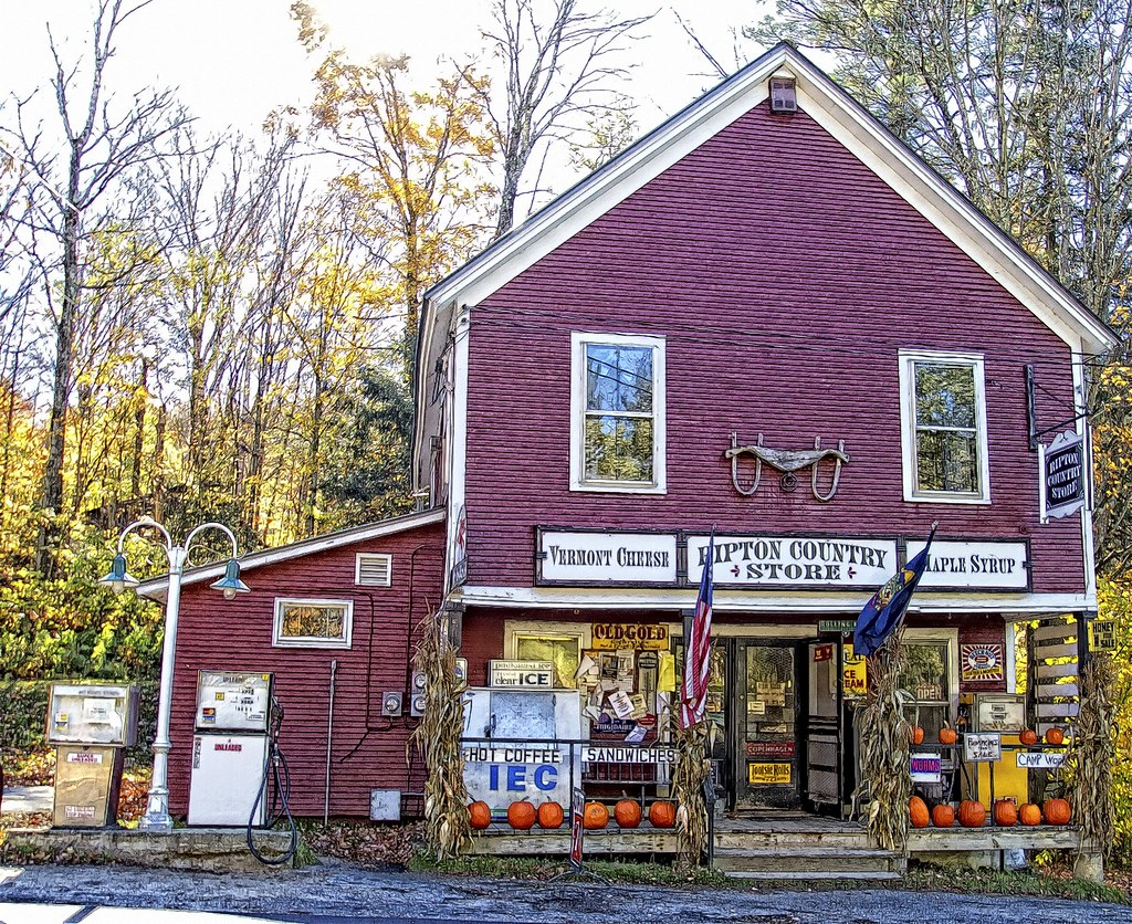 Ripton Vermont Country Store This Store Serves A