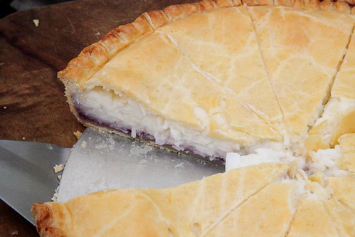Buko pie at the Purple Yam stall, Grub Street Food Festival, New York | by Eating In Translation