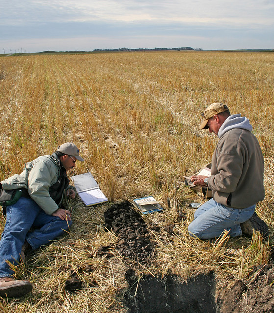 Soil scientists at work 9 flickr photo sharing for Soil scientist