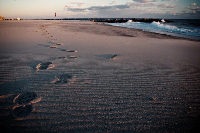 Footprints Coney Island Brooklyn