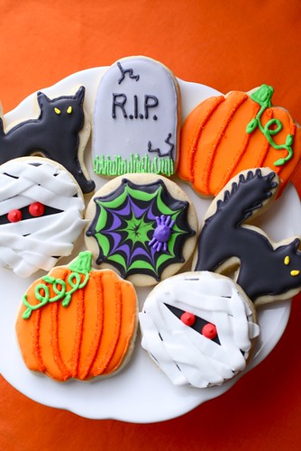 halloween sugar cookies | by annieseats