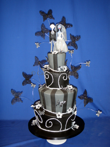 Corpse Bride Wedding Cake | Suzanne Mawhinney | Flickr