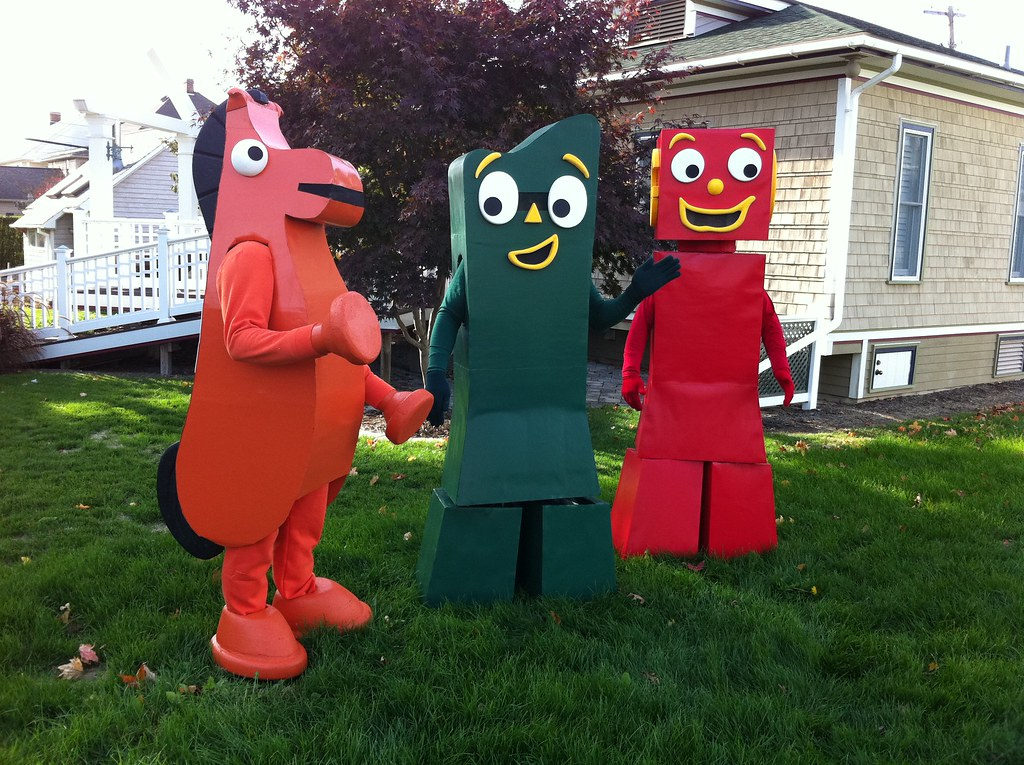 Gumby Blockheads Costume Gumby Pokey Blockhead