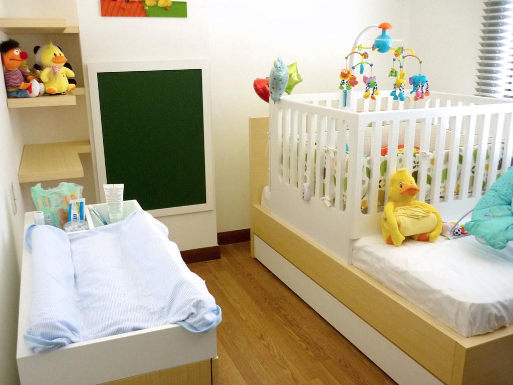 Muebles cuarto bebe  Cuarto completo Bebe cama corral, camb
