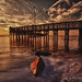 Anclote Gulf Pier in HDR