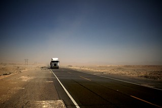 The long haul through the desolate Sechura desert in southwest Peru. | by soto97