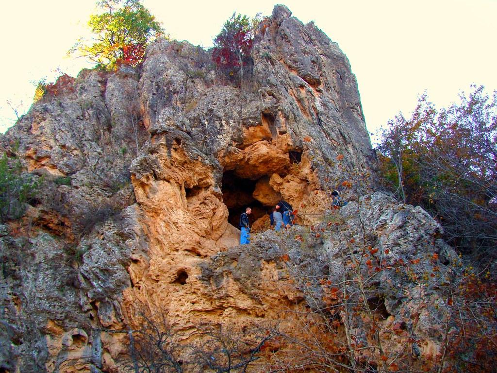 The Cave Turner Falls Park Near Davis Oklahoma Turner
