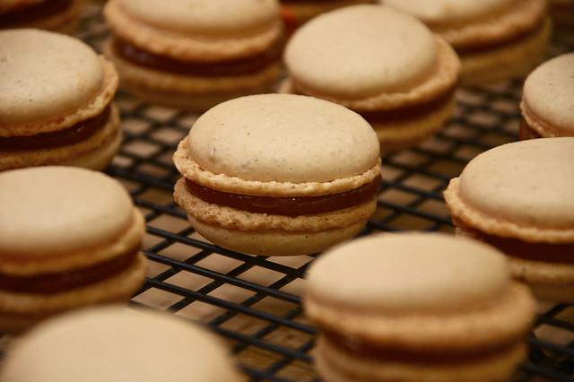 Pumpkin–Dulce de Leche Macarons | Flickr - Photo Sharing!