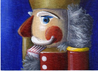 ACEO Nutcracker Profile | by DShirleyArt