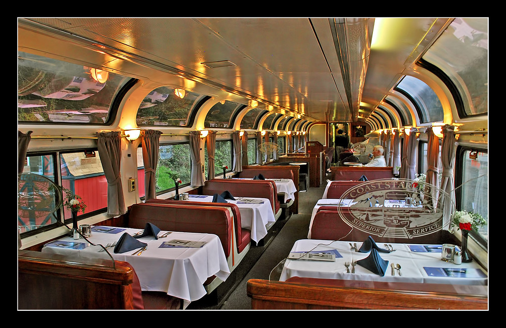 Pacific Parlour Car On The Coast Starlight The Los