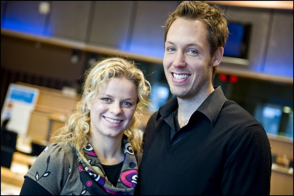 Kim Clijsters and Bria...