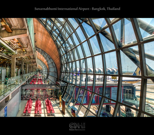 Suvarnabhumi International Airport - Bangkok, Thailand (HDR) | by farbspiel