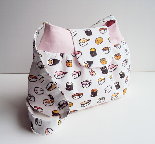 Kukubee: Medium Sushi Purse | by kukubee