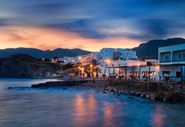 Spain cabo de gata fishing village pastels flickr for Cabo de gata spain