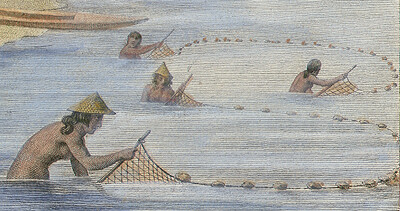Lagua', Net Fishing   Detail of the ancient Chamorro fishing…   Flickr