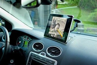 iPad car mount | by hammershaug