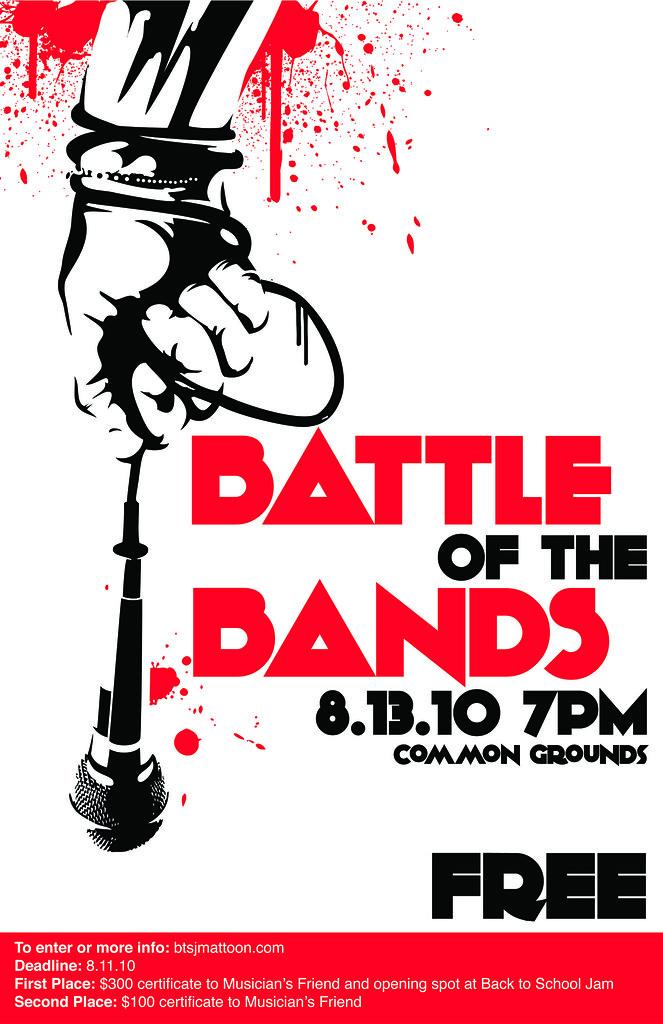 Battle of the Bands Poster : Poster I designed for Battle ...