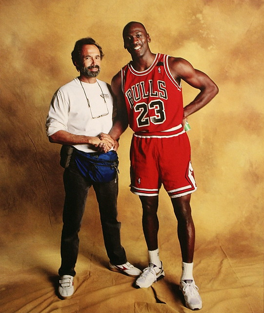 Walter Iooss And Michael Jordan Chicago Ill 1991
