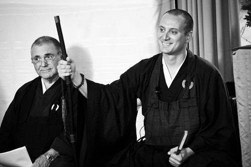 Shuso Hossen at the Village Zendo, Summer 2010 | by emptysquare