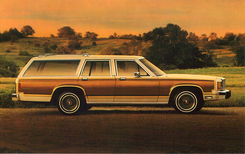 1986 ford country squire station wagon coconv flickr. Black Bedroom Furniture Sets. Home Design Ideas