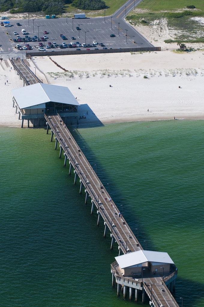 Alabama gulf state park fishing pier gulf shores for Pier fishing gulf shores al