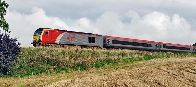 Virgin Push Pull Train Virgin Cross Country S Original
