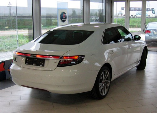 The new Saab 9-5 has landed