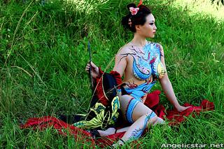 yakuza2 | Model - Yaya Han Costume made by - Yaya Han