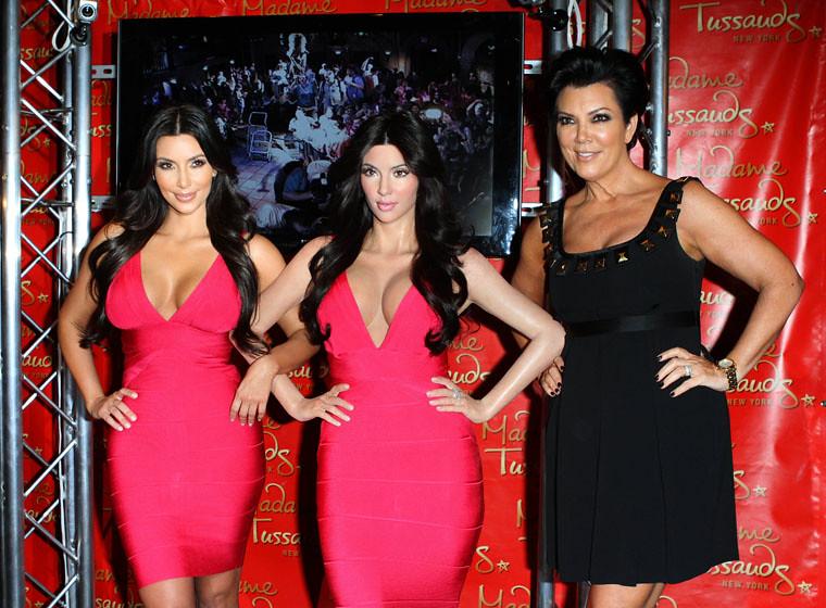 Kim kardashian with her wax statue at madame tussauds 9 flickr