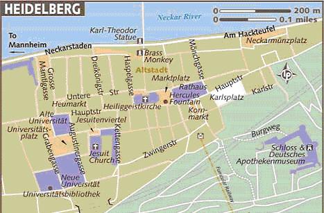 heidelberg mapa mapa heidelberg | Pepa Lozano | Flickr heidelberg mapa