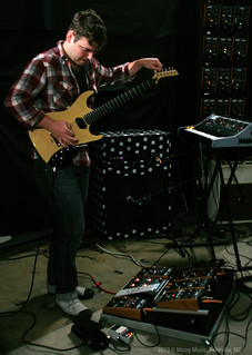 Ted of Tegan & Sara @ Moog Sound Lab | by Moog Music Inc