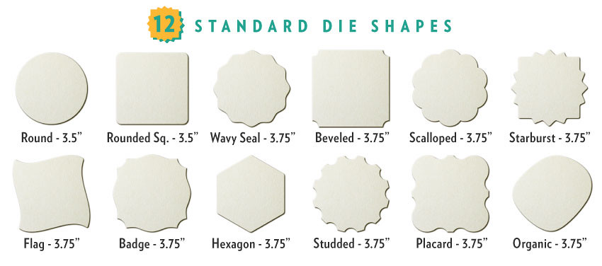 12 Coaster Shapes Guide