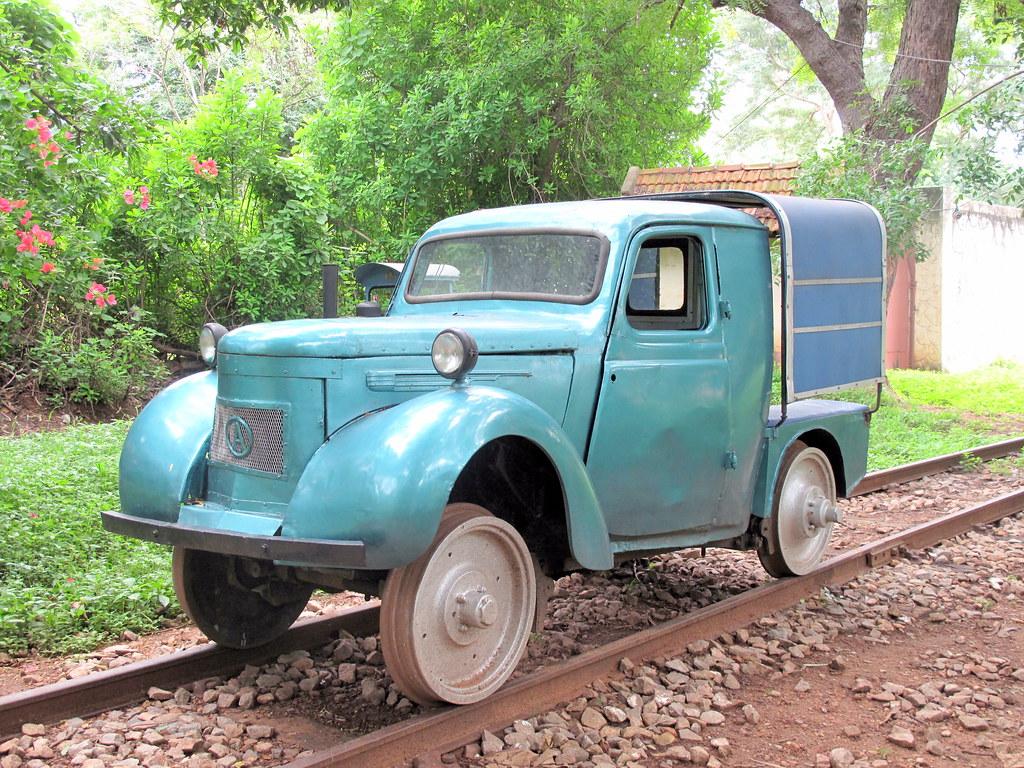 Austin rail-motor car